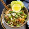 Fried rice vege